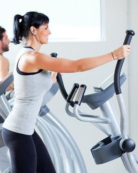 Elliptical Workout That Works Your Entire Body #workout #exercise