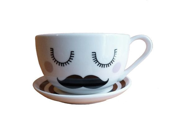 Tash Tea Cup & Saucer