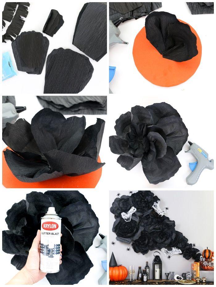 1001 ideen wie sie eine coole halloween deko selber. Black Bedroom Furniture Sets. Home Design Ideas