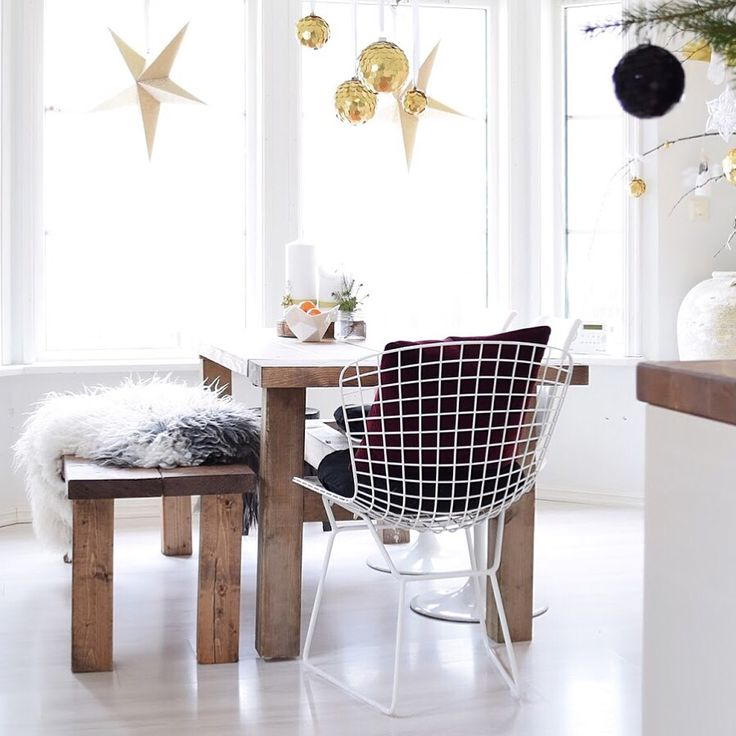 Kitchen christmas style gold glam modern rustic