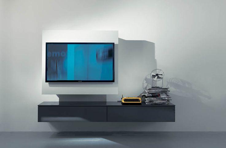 Oltre 25 fantastiche idee su porta tv su pinterest tv a - Porta tv a parete orientabile ...