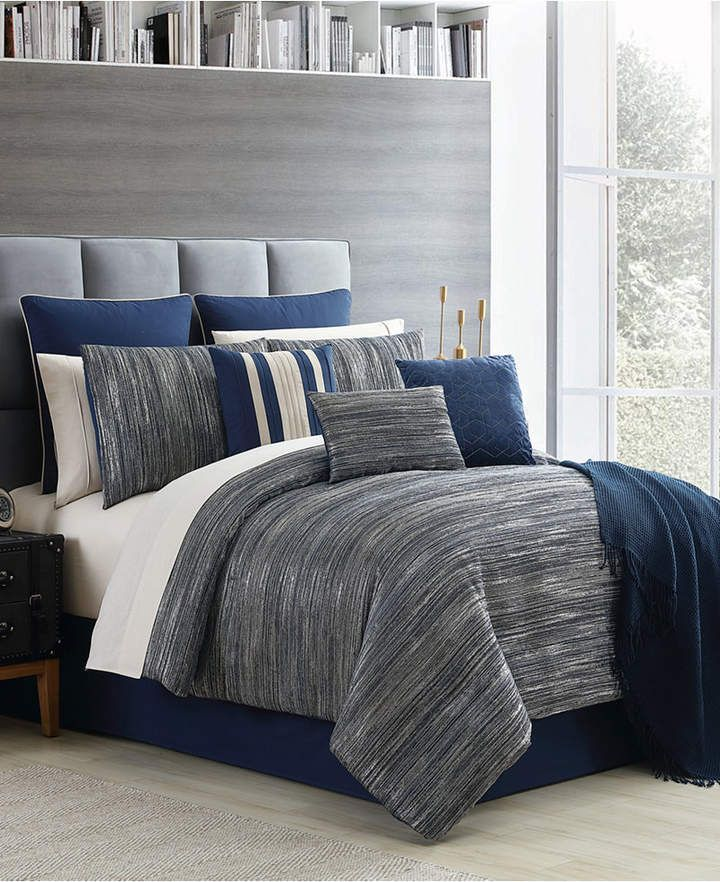 Germaine 14 Pc California King Comforter Set Bedding In