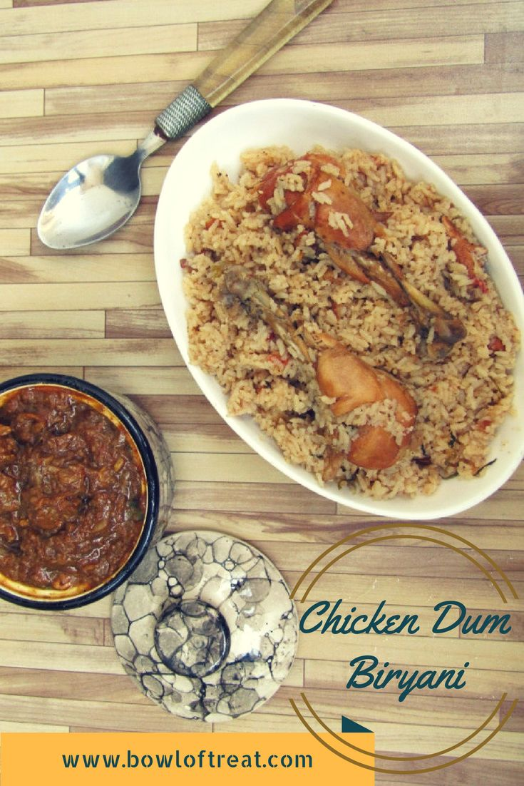 A less spicy chicken biryani - kids' friendly. From the kitchen of Ramzan