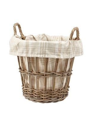 Chateau Blanc Kingston Small Rattan Basket, Brown/Neutral