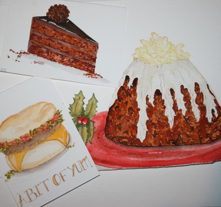 https://flic.kr/p/Hpqda1   food illustration   watercolor and ink.