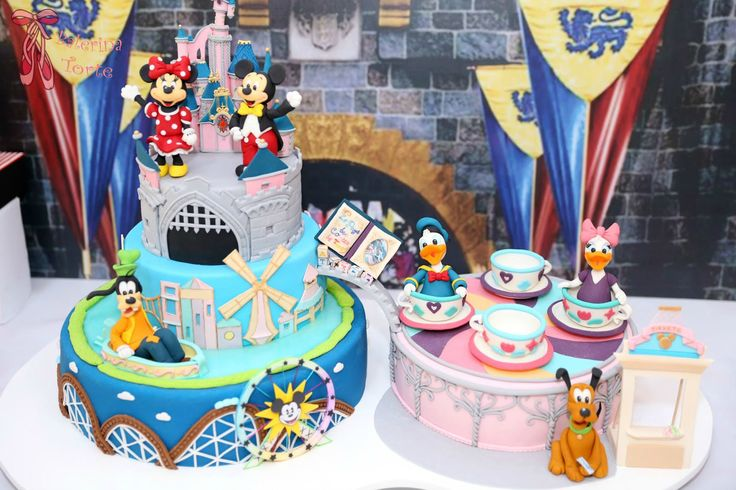 Disneyland Cake Images : https://flic.kr/p/EGZANy Disneyland Cake   Diznilend ...