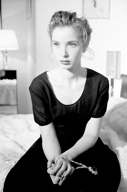 Julie Delpy photographed by Stephane Coutelle, 1990.
