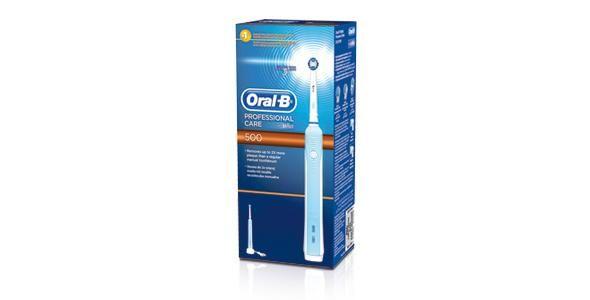 Elektryczna szczoteczka do zębów Oral-B Professional Care 500 z napędem Braun