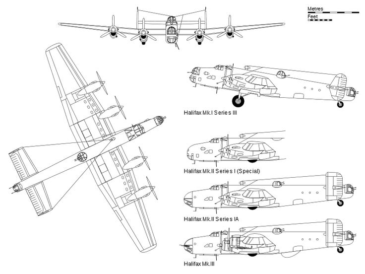 File:Handley Page Halifax.svg