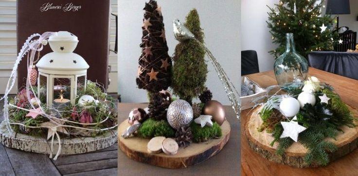 Wenn du irgendwo einen Baumstamm findest, kannst du daraus Baumscheiben heraussägen lassen. Du kannst sie auch in verschiedenen Gartengeschäften für wenig Geld kaufen. Diese Scheiben sind die perfekte Grundlage für ein hübsches, natürliches Dekoobjekt. Bedecke die Scheibe mit Grünzeug, Tannenzapfen, Kerzen und anderen Dingen. Sieh dir hier 9 inspirierende Ideen an…
