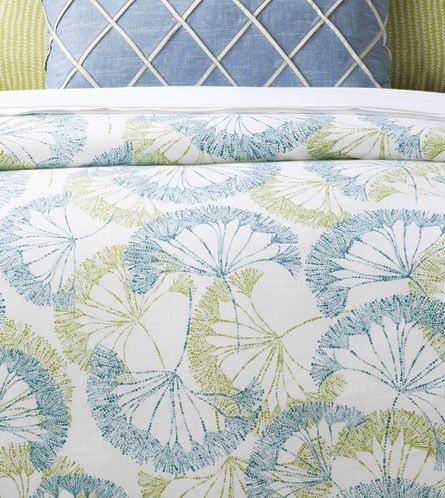 Bolina Bluegrass Duvet Cover from Eastern Accents
