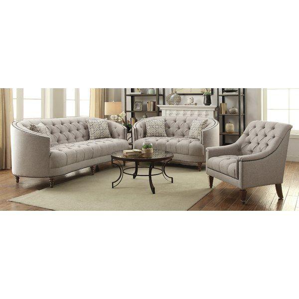 Lenum 3 Piece Living Room Set Living Room Sets 3 Piece Living