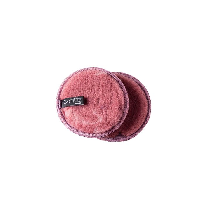 Exfoliator Set (2) in Blush. Bring on brighter skin. Being kind and chemical free, gentle exfoliation with Santé will leave all skin types happy, healthy and glowing, and beautifully prepped for the skin care treatment of your choice.