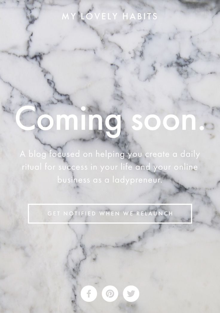 My website relaunch is coming soon!