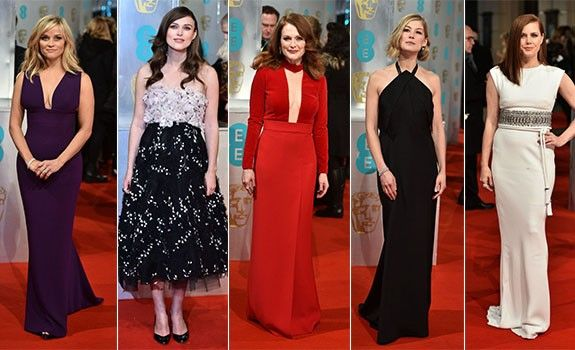2015 BAFTA Ödülleri Kırmızı Halı - Hep Moda Magazin