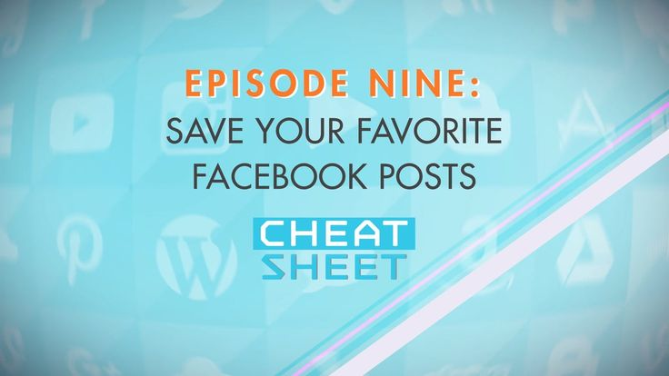 Your Facebook Newsfeed is a cluttered mess! In Episode 9, we show you how to rescue your favorite recipe/video/kid/anything posts from the chaos and VERY easily save them in one location that you can always come back to. All within Facebook itself.
