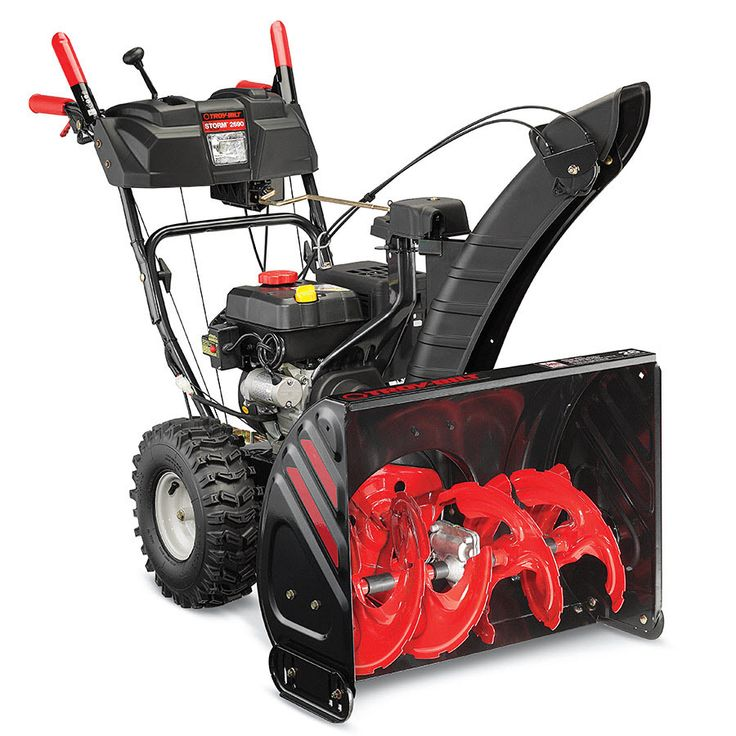 Troy-Bilt XP Storm 2690 XP 243cc 26-in Two-Stage Electric Start Gas Snow Blower with Heated Handles and Headlight