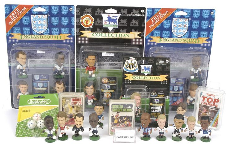 Corinthian Big Head Football Figures from 1995 ish... I had pretty much all the premier league & international figures out... even Shaka Hisplop in Newcastle Goal!