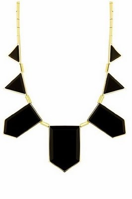 House of Harlow resin necklace = perfection. Want want want!