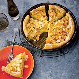 Recept - Quiche met koolraap en appel - Allerhande
