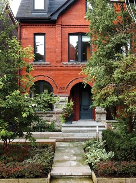 brick House  Home Magazine exteriors