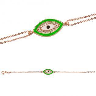 Yeşil Mekik Göz Gümüş BileklikOnline alışverişin yeni adresi Hemen üye ol fırsatları kaçırma...! www.trendylodi.com #alisveris #indirim #hepsiburada #takı #bileklik #bilezik  #aksesuar #moda #trendylodi