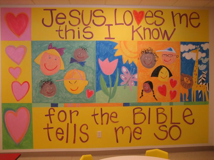 Painting Ideas For Preschool Sunday School Room Pictures