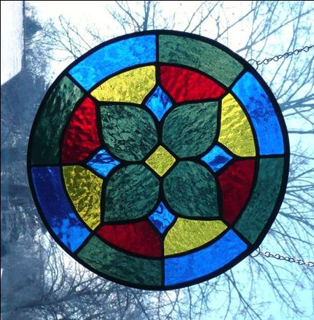 Beginner Stained Glass Patterns | Vinery Glass Studio Stained Glass Art