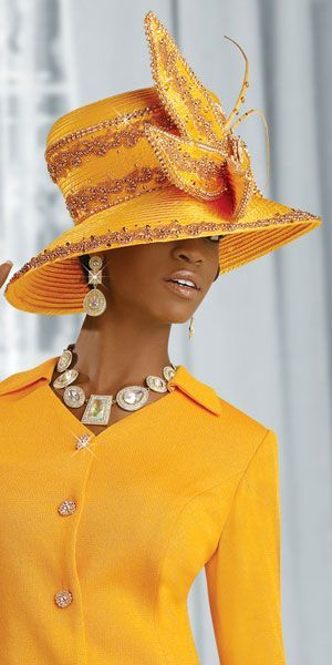 Image detail for -... view of the Donna Vinci Knits Womens Yellow Church Suit 2846 image