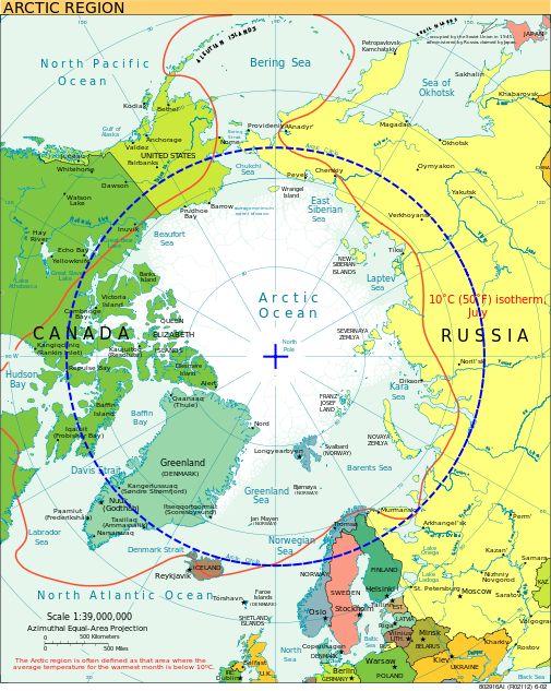 Arctic circle - Koło podbiegunowe – Wikipedia, wolna encyklopedia