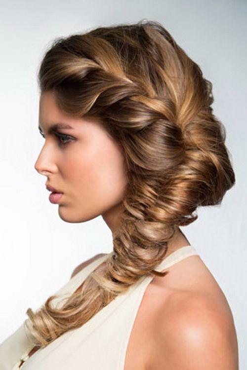 Beautiful looks Roped Braid Hairstyles