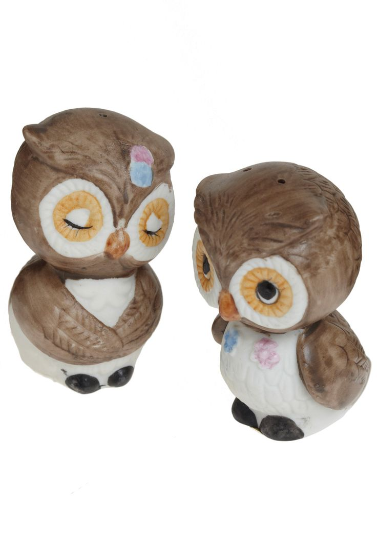 17 best images about salt pepper on pinterest salts jonathan adler and vintage owl - Owl salt and pepper grinders ...