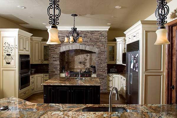 Plan W9539RW: Luxury, Sloping Lot, Premium Collection, Spanish, European, Mountain, Mediterranean, Photo Gallery House Plans & Home Designs