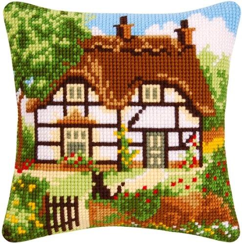 Cottage Cross Stitch Cushion Kit $44.88