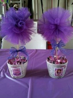 Sofia the First Tulle Centerpiece