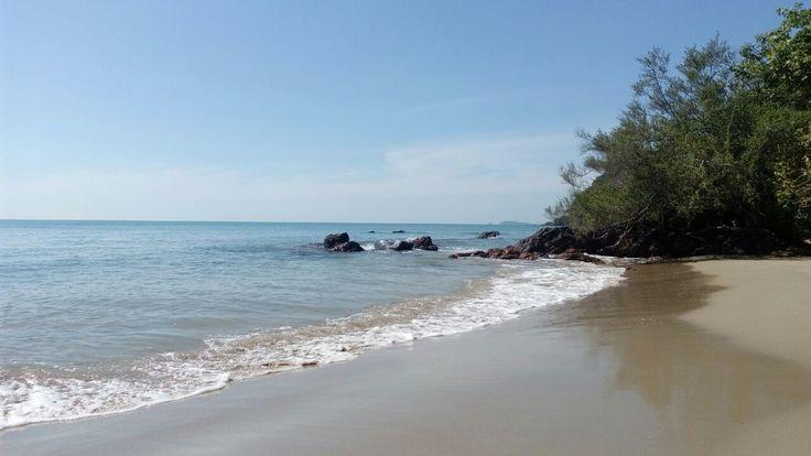 Лучший пляж на материке в Wang Kaew National Park