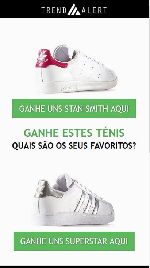 73d26952f9f GANHE UNS STAN SMITH AQUI  - - -  tenis  adidas  portugal  brazil ...
