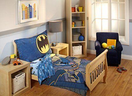 Batman Toddler Bedding Set @ niftywarehouse.com