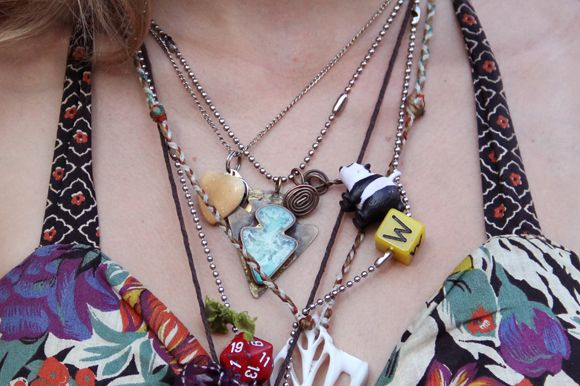 Layered necklaces: Fno Street, Boho Chic, Street Style, Fashion Diy, Layered Necklaces, Streetstyle Free, Free People, Eclectic Jewelry