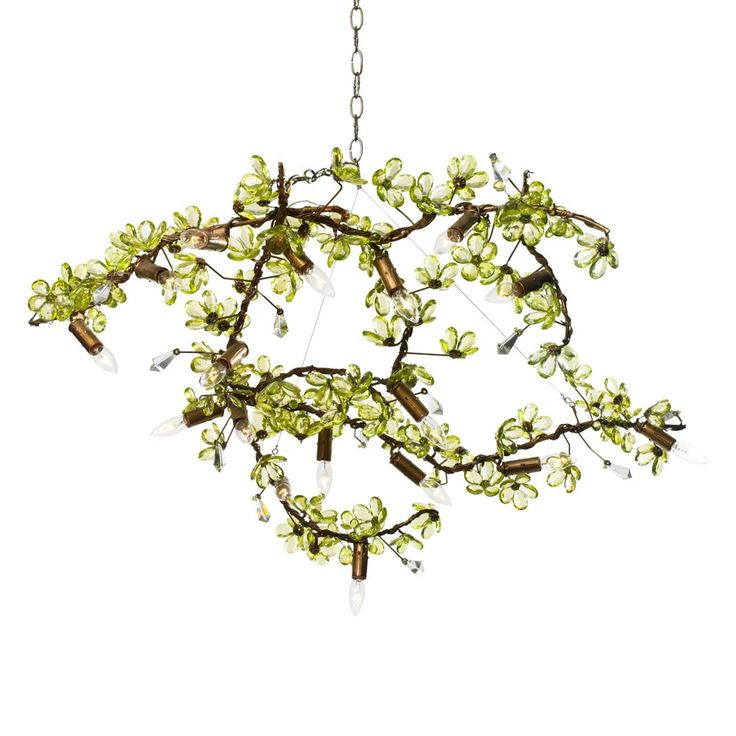 Ornella Flowering Branches I Chandelier In Custom Colors   The Ornella  Flowering Branches Is Free Form And Versatile, Offering A Contemporary Take  On ...