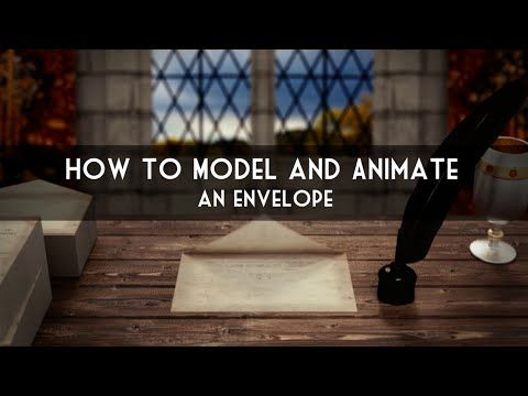 In this Tutorial we Model and Animate an Envelope. Using a lattice and a few Modifiers we can easily create the Envelope and the Flap that deforms.  sc 1 st  Pinterest & 82 best Tutorials: Blender Tutorials images on Pinterest | Blender ... azcodes.com
