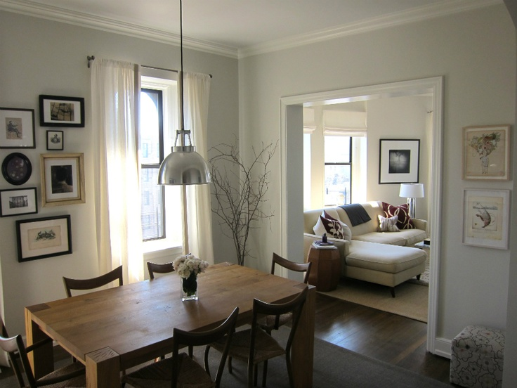 Benjamin Moore EDGECOMB GRAY I Dont Think This Is A True Depiction Of Edgecomb Gray The Lower Ceilings And Smaller Room Make Look Lot