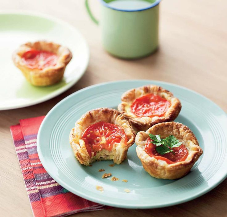Little tuna and tomato tartlets by Sabrina Parrini from Half-Hour Hungries | Cooked