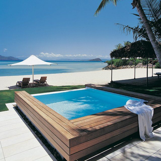 Hayman Island Beach Villas in Queensland, Australia. I gotta get to a beach somewhere, really I do.