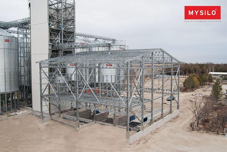 Mysilo your needs and offer suitable to your request steel construction services. www.mysilo.com/en #mysilo #silos #grain #silo #grainstorage