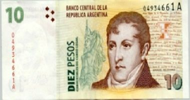 Argentine Peso to US Dollar cash converter