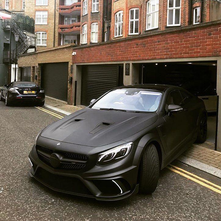 The Dark Knight Mansory S65 Scoupe Sclass Mercedes Luxury Performance Black Carspot Car Mercedes Car Super Sport Cars