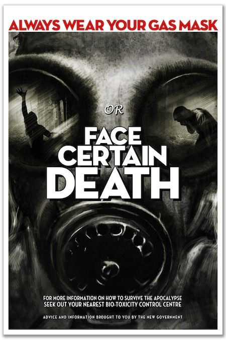 The Fitzroy - Poster C: 'Face Certain Death' by Oliver Polanski