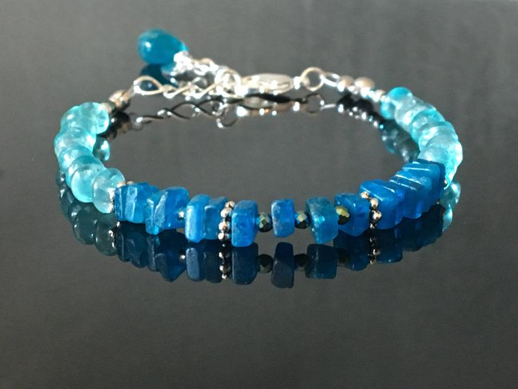 A personal favourite from my Etsy shop https://www.etsy.com/no-en/listing/522435560/sparkling-in-blue-summer-bracelet-with