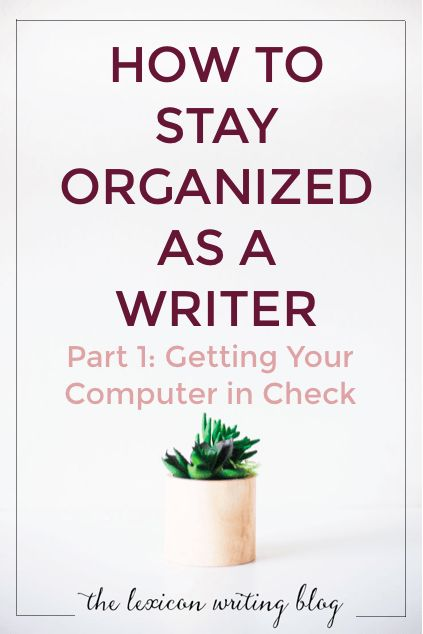 how to keep organized at work